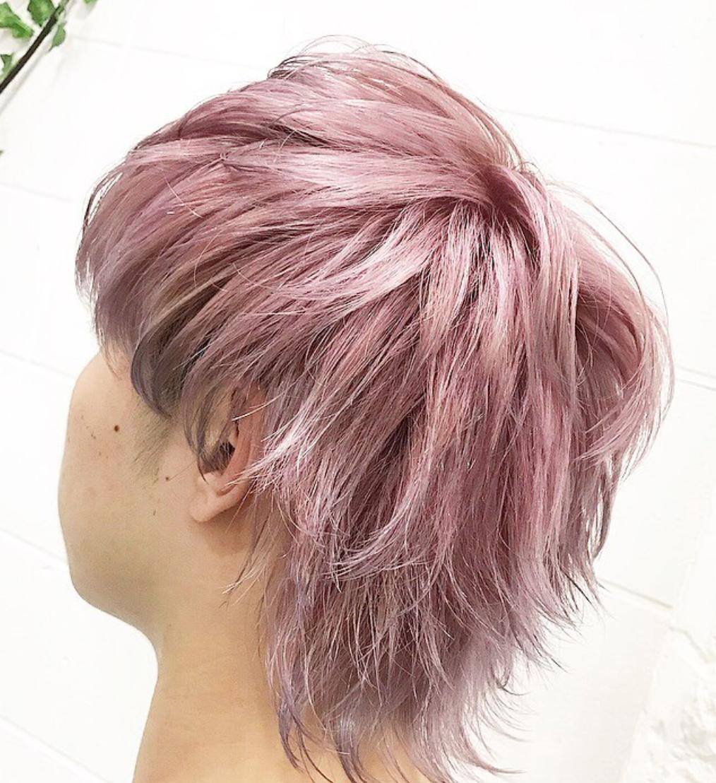 メンズにおすすめのピンクの派手髪