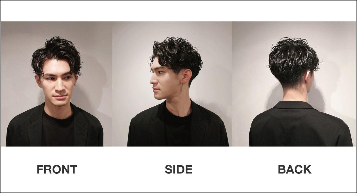 髪型をオーダーしやすい写真の例