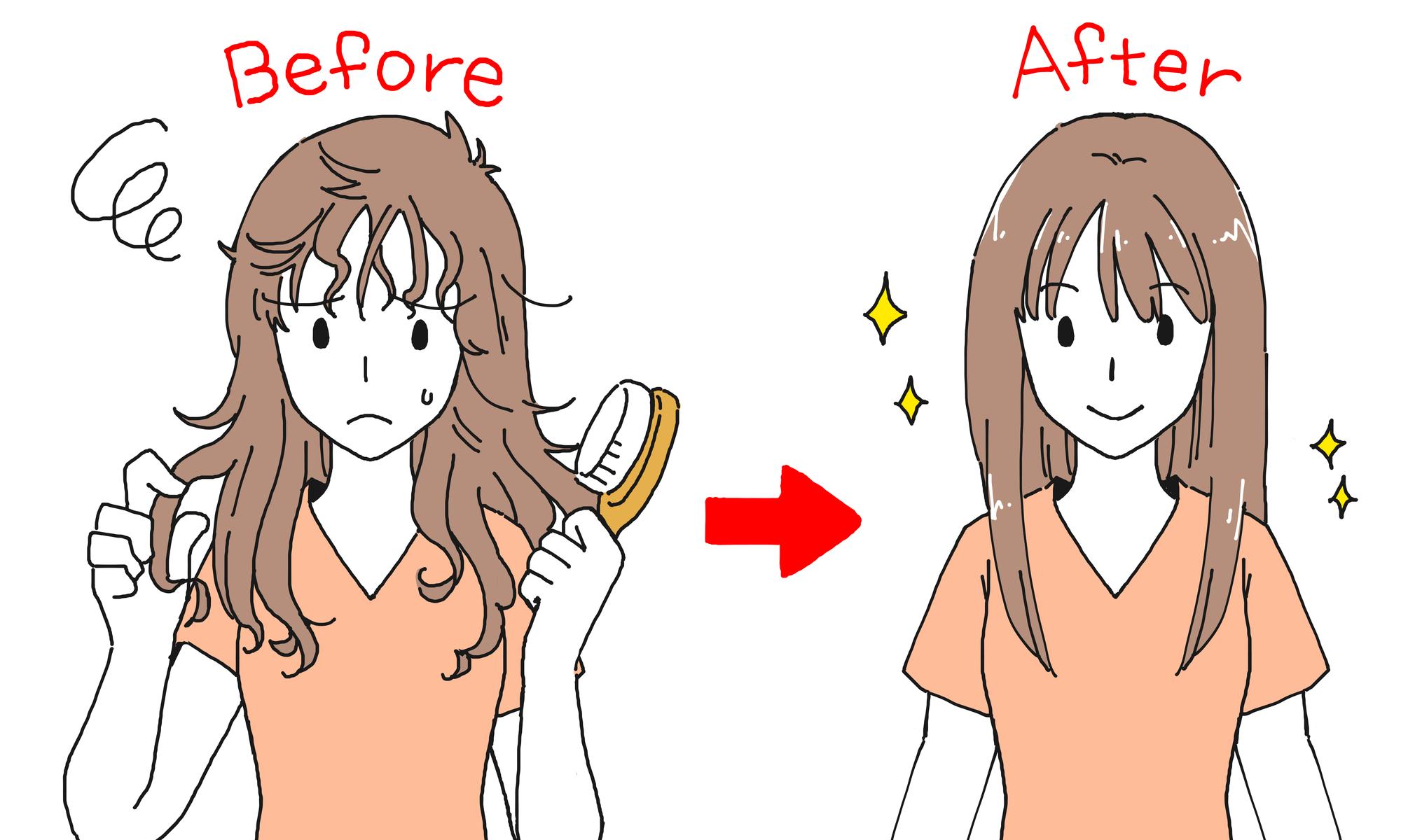 生まれつきくせ毛がストレートヘアになるには縮毛矯正しかない